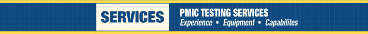 PMIC Testing Services